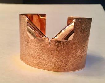 Copper Tuxedo Cuff
