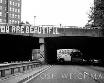 You Are Beautiful -- Birmingham, Alabama Print