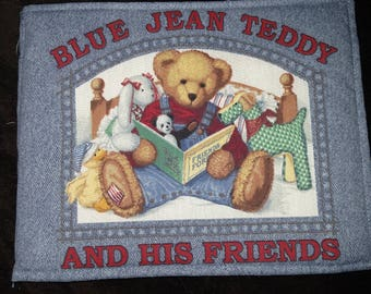 Blue Jean Teddy and His Friends Cloth Book