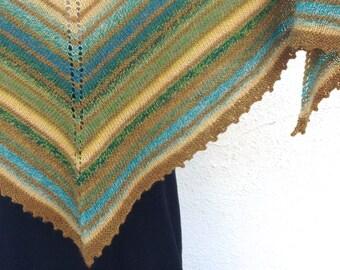 pdf knitting pattern, pdf shaw pattern, shawl knit pattern, instructions to knit