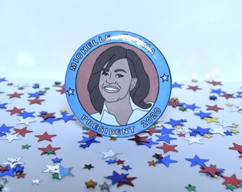 Michelle Obama - 58mm - Badge