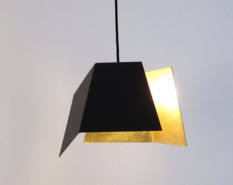 Hanging lamp with 24 karat GOLD by renna deluxe