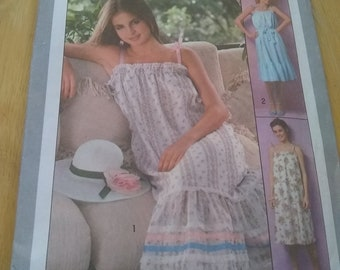Simplicity 8512, Misses'Pullover Jiffy Pullover Sundress and Tie Belt