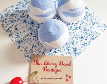 Forget-me-not Floral Bathbomb
