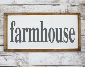 Farmhouse wall decor, Farmhouse sign, Farmhouse wooden sign, Farmhouse kitchen decor, Farm signs, Rustic farmhouse decor, Farmhouse decor