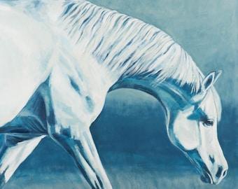 Horse Art, Arabian, Horse Painting, Oil