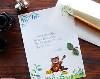 Stationery set[Elegy of Tiger cat]