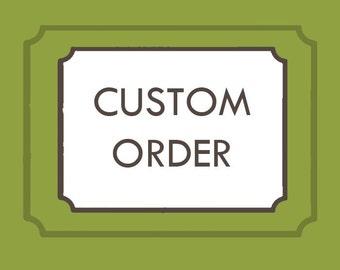 Custom Screenprinted Order