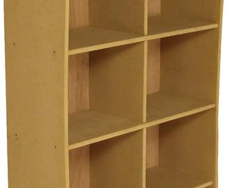 "Study MDF Storage Unit, usage: 12"" Records, Books, Files, Shop Displays etc [RS1]"
