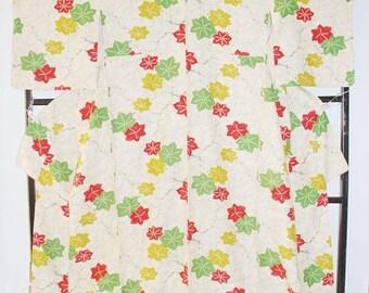 Japanese Kimono, Kimono Dressing Gown, Authentic Kimono, Long Kimono Robe, Japanese Robe, Maxi Kimono, Kimono Top, Japanese Fabric,