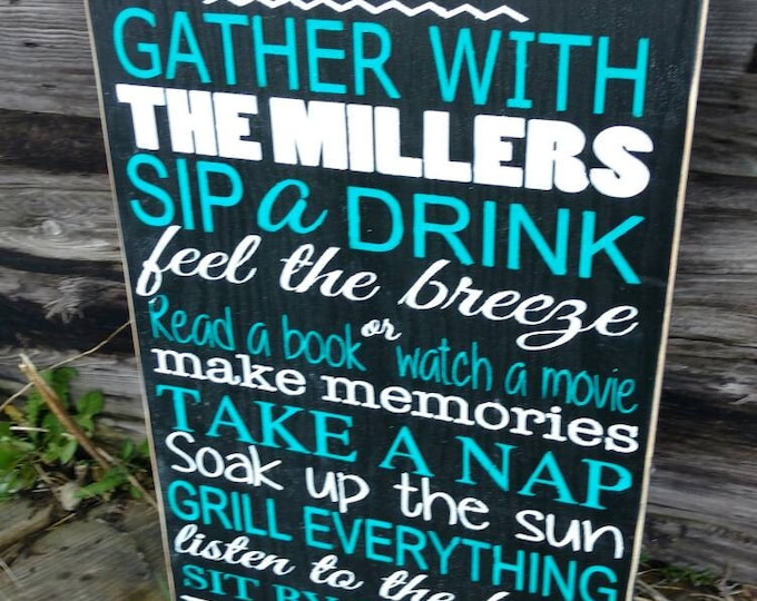Well known Outdoor signs - Mama Says Signs YF15