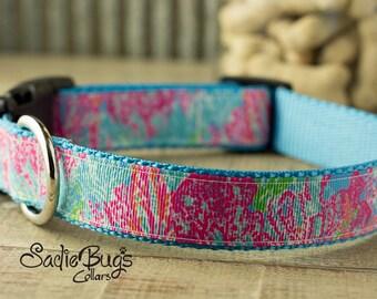 Spring dog collar - Summer