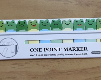 Cute Frog Page Markers