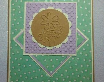 Handmade Any Occasion Greeting Card * Kraft Card