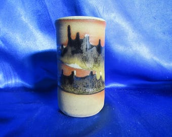 Studio Pottery Vase Made by Graham Newing