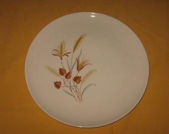 Autumn Harvest dinner plate