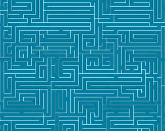 FUN AND GAMES Maze Blue