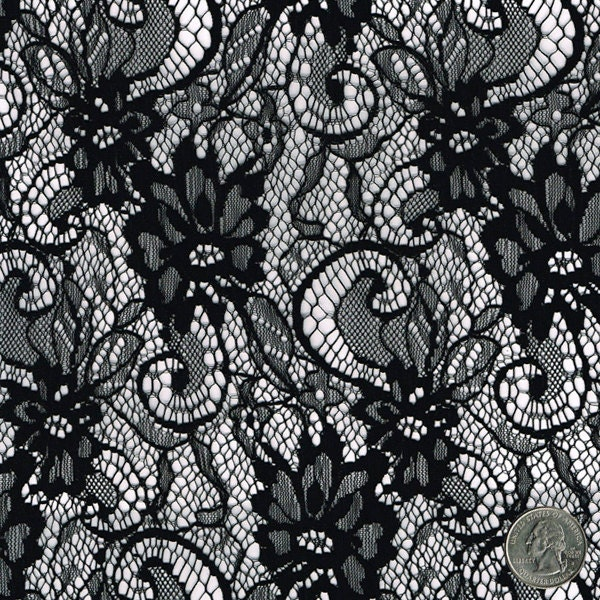 Floral Lace Material