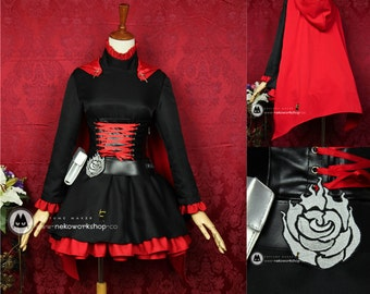 RWBY - Ruby Cosplay Costume