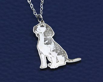 Custom Pet Necklace,Dog Photo Necklace,Dog Lover Necklace,Dog Pendant,Pet Keepsake,Photo Necklace,Portrait Necklace