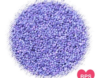 Light Purple Nonpareil Sprinkles, Light Purple Sprinkles, Lavender Sprinkles, Purple Sprinkles, Pastel Purple Sprinkles, Edible Sprinkles