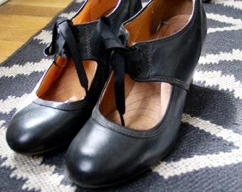 Mary Jane Style Heels