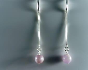Kunzite Drop earrings