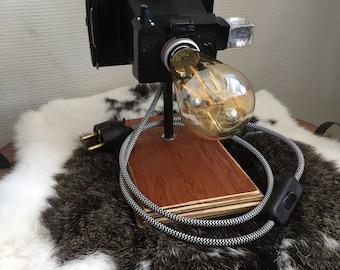 Vintage Photo Camera lamp