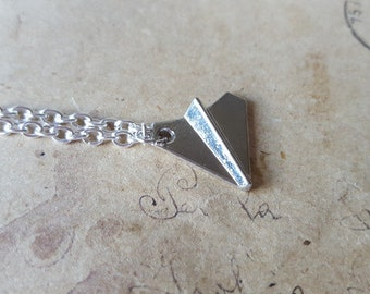 Paper planes - chain ~ silver ~