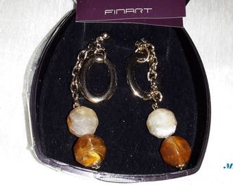 Tendrils or earrings Finart new excellent quality. Free Shipping
