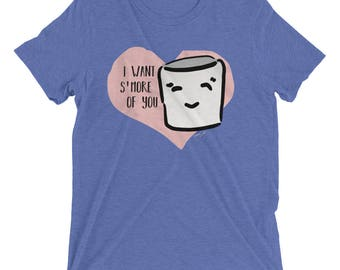 S'More of You Short sleeve t-shirt | Marshmallow Shirt | S'More Shirt Valentine's Day Gift Valentine's Day Shirt S'More T-Shirt Mallow Shirt