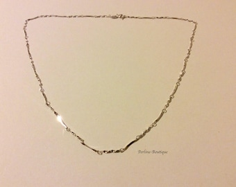 Fine 925 sterling silver plated link chain