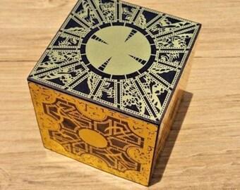 HELLRAISER PUZZLE BOX Foil Face solid wood - Originator of the Foil Face Cubes