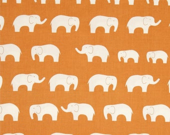 ORGANIC Drool Pads // Tula Beco Ergo // Orange Elephants