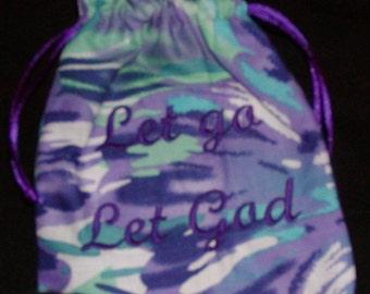 Let go, Let God Prayer Bags