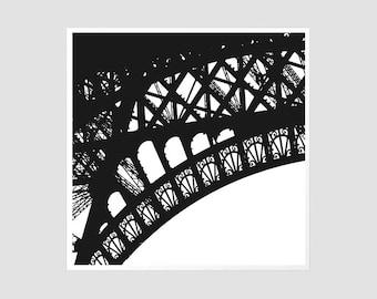Eiffel Detail - 8x8 Original Signed Photography