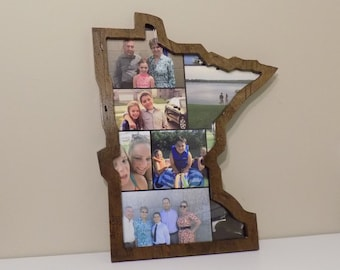 Minnesota wall art Picture Frame 16 inch x 20 inch
