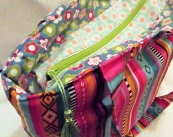 Hippie bag fabric - fleece - bi - multi-purpose - multicolor ref: 220218-A