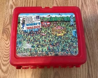 Wheres Waldo lunchbox