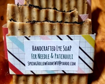 Fir Needle & Patchouli Lye Soap