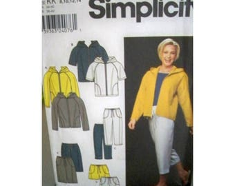 2 Simplicity 9267 Outfit Patterns - Uncut - Large Thru Plus Sizes