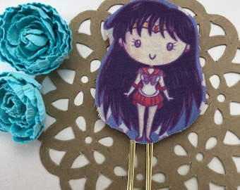 Sailor Mars Inspired Planner Clip or Bookmark