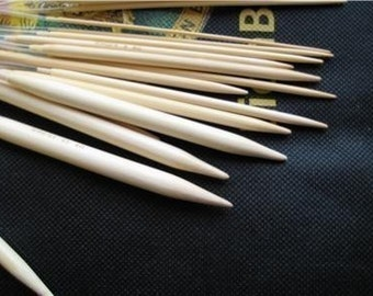 14 size 60 inch bamboo circular knitting needles US 1-15 (you will get total 14 pairs of needles)