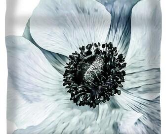 Duvet Cover,Designer Duvet CoverBlue Flower,Gray Floral,White,Grey,Botanical,King,Queeen,Full,Twin,Bedroom Home Decor,Bedding,Poppy,Boho