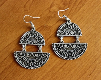 Ethnic Earrings, Egyptian Earrings, Oriental Earrings, Boho Earrings, Tribal Fusion Earrings, Banjara Earrings, Kuchi Bajara Earrings, Boho