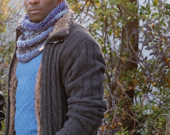 BARROW Chunky Ribbed Cowl // Ribbed Knit Cowl