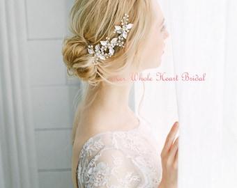 Bridal hair pins, Pearl hair pins, wedding hair pins, decretive pins, wedding hair pins, flower hair pins, flower pins