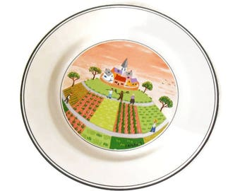 Villeroy & Boch - bread plate - naive Theme