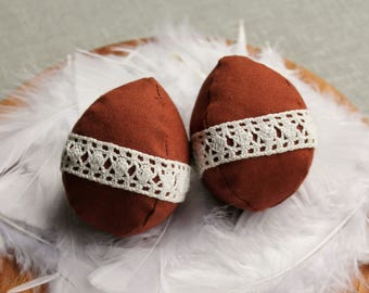 Fabric Easter Egg Decorations
