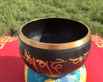 Tibetan Buddha Singing Bowl